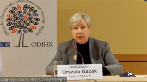 ambasadorja Ursula Gacek