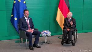 Glauk Konjufca dhe Wolfgang Schäuble