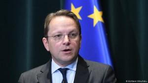 Komisioneri i zgjerimit Olivér Várhelyi