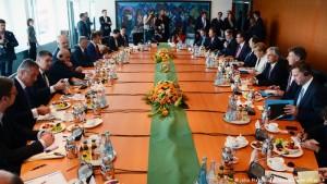 Konferenca e parë e Procesit të Berlinit më 28 gusht 2014 në Berlin