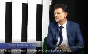 Afrim Fanda Intervista tv koha